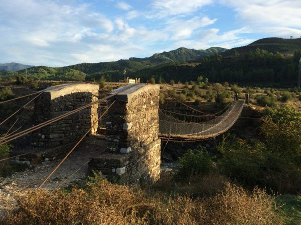Vjosa-Brücke