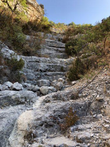 Stufen für Riesen